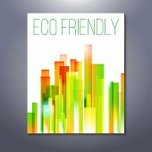 Eco Friendly Abstract Urban Scene, Presentation