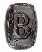 Handmade Ceramic Letter B