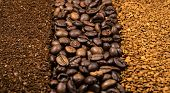 Collection Of Coffee, Milled, Instant And Beans