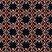 Arabesque Abstract Pattern