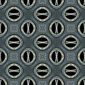 Futuristic Tech Pattern