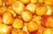 Fried Potato Croquettes.