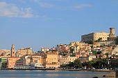 Landscape of Gaeta (Italy)