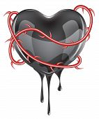 Bleeding Black Heart