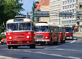 Celebration Of The 130Th Anniversary Of Public Transportation In Poznan, Poland