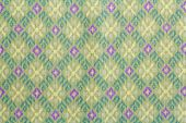 Pattern of Thai native cloths