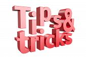 Tips And Tricks Icon On A White Background. 3D Illustration