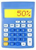 Calculator With 50
