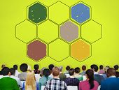 foto of honey bee hive  - Bee Hive Honey Community Teamwork Concept - JPG