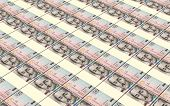 foto of colombian currency  - Colombian pesos bills stacks background - JPG
