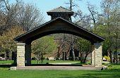 stock photo of illinois  - The pavilion in Joliet - JPG