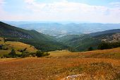 stock photo of apennines  - Beautiful Landscapes of the mountains taken in the Apennines - JPG