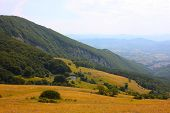 stock photo of apennines  - Apennines beauty taken in Italy on the Monte Cucco mountain - JPG