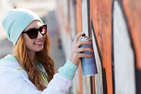 stock photo of street-art  - people - JPG