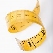 Curly measuring tape.