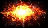 Fire Explosion for flame design