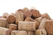 corks on a plate