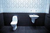 modern toilette