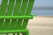 Green Beach Chair 2