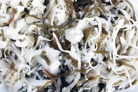 stock photo of luminaria  - Korean salad - JPG