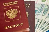 Russian Money And Passports