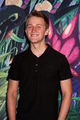 LOS ANGELES - AUG 19:  Jason Dolley at the D23 Expo 2011 at the Anaheim Convention Center on August