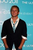 LOS ANGELES - AUG 19:  Chris Brochu at the D23 Expo 2011 at the Anaheim Convention Center on August 19, 2011 in Anaheim, CA