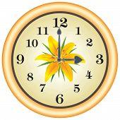 Clock Lilly
