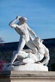 Theseus And The Minotaur (1821) By Jules Ramey In Jardin Des Tuileries (the Tuileries Garden), Paris