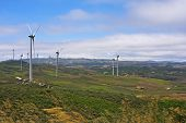 Several Aeolian Windmills - Meadas (hanks) Sierra