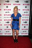 LOS ANGELES - MAY 12: Tiffany Thornton at the Nylon Magazine Young Hollywood Party 2010 at the Hollywood Roosevelt Hotel in Los Angeles, California on May 12, 2010