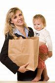 Постер, плакат: Рабочие мама