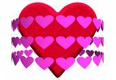 Pinkredhearts