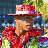 Colorful Carnival Dancer