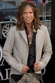 HOLLYWOOD, CA - MAY 7: Steven Tyler arrives at the premiere of the Warner Bros. Pictures' Dark Shadows on May 7, 2012 in Hollywood, California.