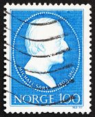 Postage stamp Norway 1970 Michael Sars, zoologist