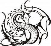 Raising dragon