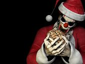 Santa-Zombie-Köpfe