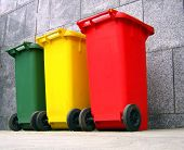 Trash Cans For Garbage Separation