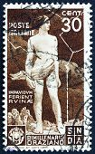 Postage stamp Italy 1936 Ajax Defying the Lightning