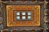 Interior architecture of Library of Congress - Washington DC