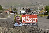 Idaho State/usa _jeff Nesset _for Idaho Senate