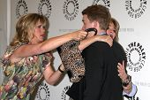 LOS ANGELES - MAY 9:  Alison Sweeney, Deidre Hall, Chandler Massey arrives at the