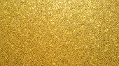 Gold Glitter Texture Background Sparkling Shiny Wrapping Paper For Christmas Holiday Seasonal Wallpa poster