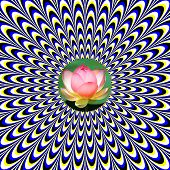 Mystical Lotus     (motion illusion)