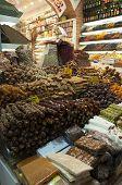 Turkish sweets at bazaar