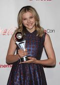 LAS VEGAS - APR 26:  CHLOE GRACE MORETZ arrives afor the Cinema Con 2012-Final Night Awards  on Apri