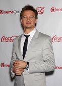 LAS VEGAS - APR 26:  JEREMY RENNER arrives afor the Cinema Con 2012-Final Night Awards  on April 26,
