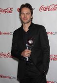 LAS VEGAS - APR 26:  TAYLOR KITSCH arrives afor the Cinema Con 2012-Final Night Awards  on April 26,