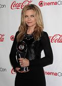 LAS VEGAS - APR 26:  MICHELLE PFEIFFER arrives afor the Cinema Con 2012-Final Night Awards  on April